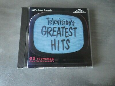 Television's Greatest Hits (65 TV Themes! From The 50's And 60's) cd album Earl