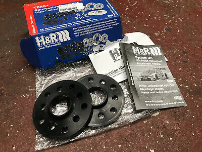 H/&R 5mm Wheel Spacers /& Extended Wheel Bolts Audi A3 8P 2003-2012