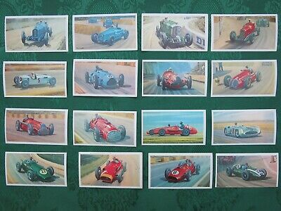 F1 Cars Mobil The Story of Grand Prix Motor Racing Trading Cards Part Set 16/36
