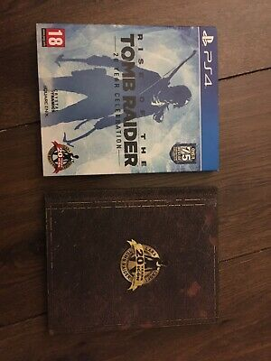 Rise of the tomb raider Artbook Playstation 4 Excellent condition Fast UK post
