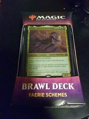Faerie Schemes Brawl Deck Throne of Eldraine Magic the Gathering MTG