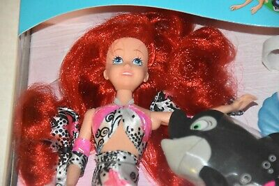 NIB 1992 Whale of a Tale Ariel doll by TYCO The little Mermaid Walt Disney Spot