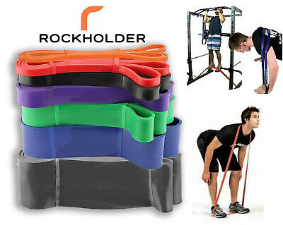 Latex Resistance Band Heavy Duty Power Stretching Gym Fitness Exercise Yoga Pull