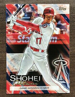 2019 Topps Update Shohei Ohtani Highlights Insert ~ Pick your Card