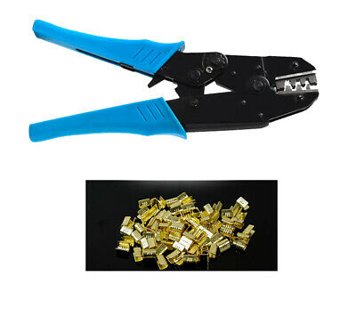 Cold pressing terminal clamping pliers C - type U - type copper buckle 1-3 squar