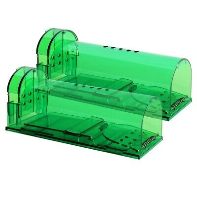 1X(Humane Smart Mouse Trap-2 Pack No Kill,Live Catch and Release Mouse TrapU8P9)