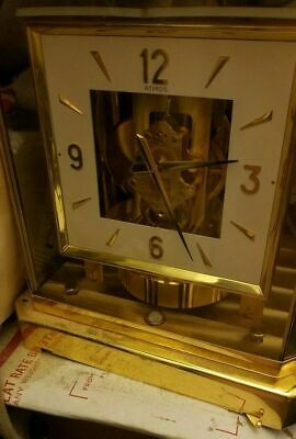 Jaeger LeCoultre Atmos clock (NEW?) -with BOX,MANUALS (MAKE OFFER)