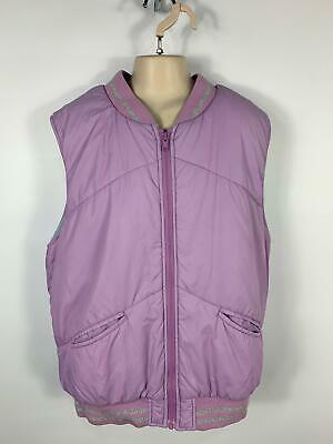 Girls Marks&Spencer Lilac Purple Gilet Body Warmer Zip Up Jacket Kids Age 13/14