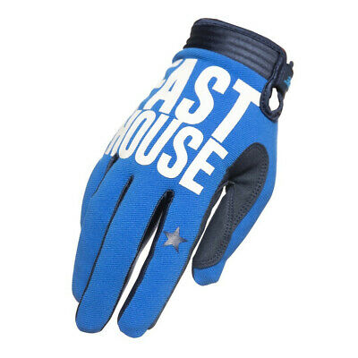 Fasthouse Speedstyle Motocross MX Offroad Race Gloves Blockhouse Blue Adults
