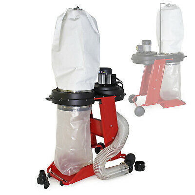 Dust Extractor with 550W (0.75 HP), an Extraction Capacity of 1150m³/h
