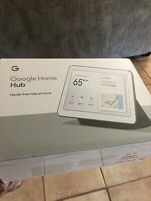 Google Home Hub with Google Assistant - GA00515-US - FREESHIP - Cond NEW