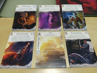 The Legend Of The Five Rings - Province Lot - Spanish Promo