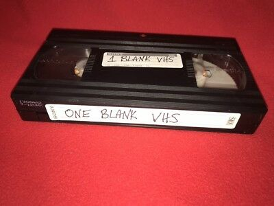 ONE Home Recording VHS 1990 TNT Movies With Commercials #L107 Blank