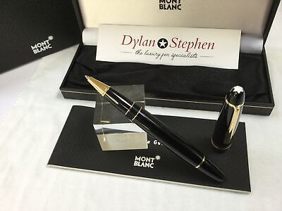 Montblanc meisterstuck 162 legrand gold line rollerball pen + box + papers