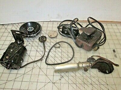 Singer Sewing Machine Treadle to Electric Conversion Parts - off a Red Eye