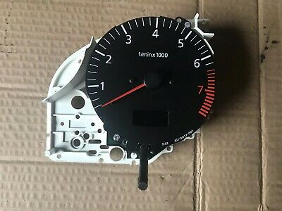 Audi 80  Cabriolet Un4 Rev Counter And Time Clock
