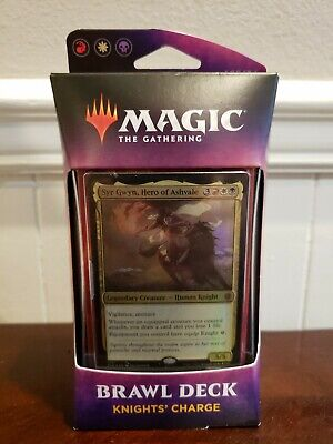 MTG Brawl Deck Knights Charge Throne of Eldraine Syr Gwyn PLUS JAPANESE...