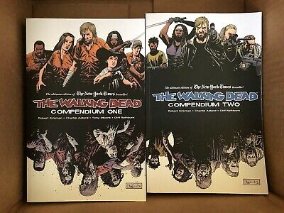 The Walking Dead Compendium #1 and 2, Image Comics - in great shape!