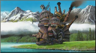 63487 Howl's Moving Castle Wood Panel