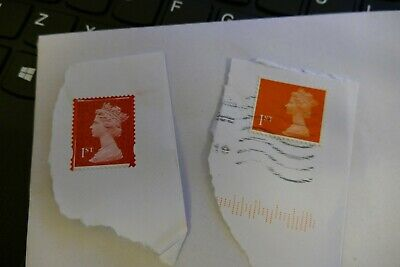 2x UK first Class error/ strange issue UK British postage stamps philatelic