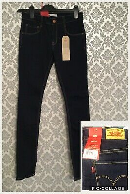 Girls Age 16 LEVIS - Dark Blue Jeans New With Tags