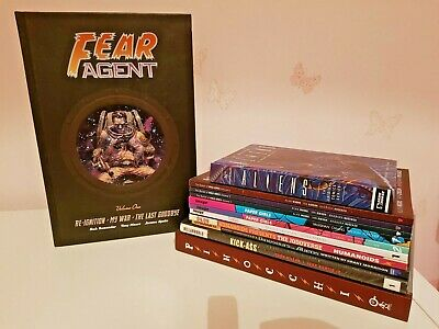 Fear Agent Volume 1 and some random other comics