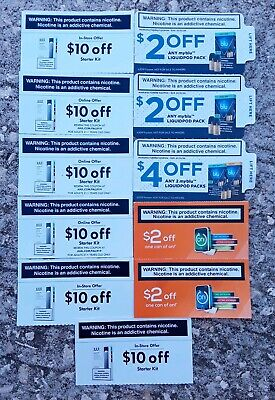 6JUUL 3myblu & 2on! In Store & Online Coupons Save$72 Exp 01/20