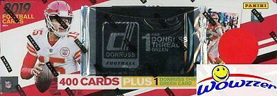 2019 Donruss Football MASSIVE EXCLUSIVE 401 Card Factory Set-GREEN THREAD JERSEY