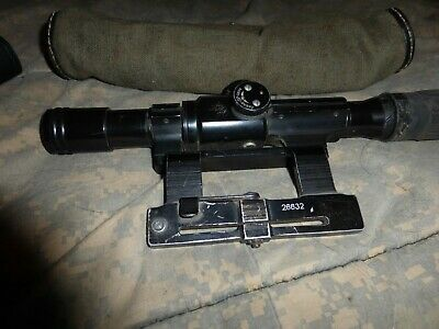 Zrak M76B scope and mount for M76 rifle
