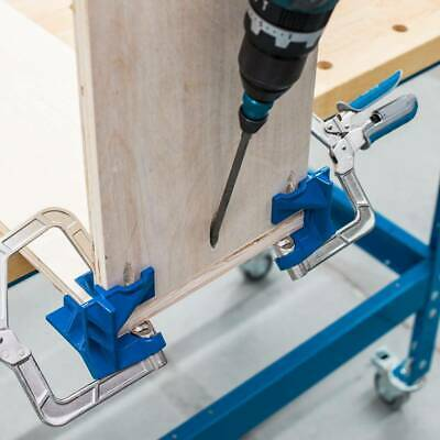 Woodworking 90 Degree Right Angle Corner Clamps T Joints Gadget Wood for Kreg 凵K
