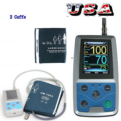 Ambulatory Blood Pressure Monitor, For Continuous Monitoring,USB,Cuff,software