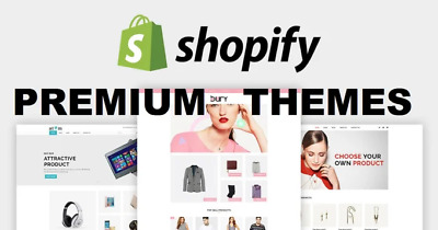 00122 Premium Shopify Themes + Free Unlimited Shopify Store