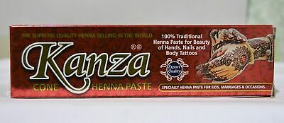 Kanza Cone Henna Paste Body Decoration 30g FREE SHIPPING