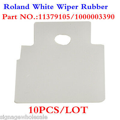10PCS*Solvent Resistant Wiper Blade for Roland DX4 heads - 1000003390 & 11379105