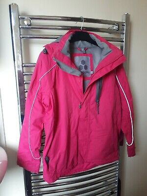 Tog 24 pink waterproof coat jacket age 11-12
