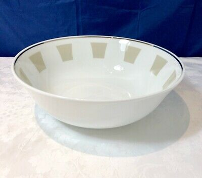Bernardaud Limoges Galerie Royale Grege Saladier / Salad bowl NEW IN BOX