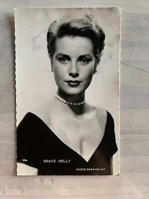 CPA photographie Grace Kelly N&B