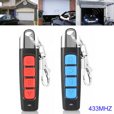 Universal Garage Door Car Gate Cloning Remote Control Key Fob Switch Replacement