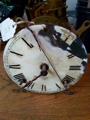 Antique Ansonia 8 Day Strike Clock Movement Parts Or Repair (1882)