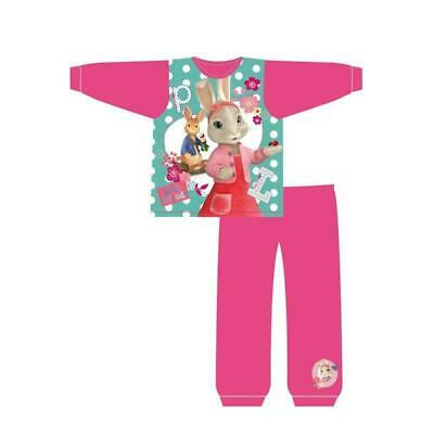 Peter Rabbit Girls Pyjama Set PJs Nightwear Lily Bobtail 18 mths to 5 Years