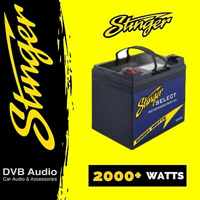 Stinger SSB2000 Select 2000W High Performance Car Audio Battery #1 Seller