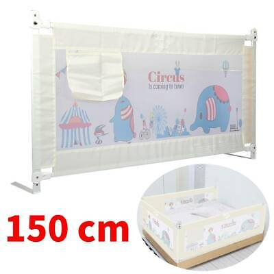 150 cm Bed Safety Guards Folding Child Toddler Bed Rail Safety Protection Guard