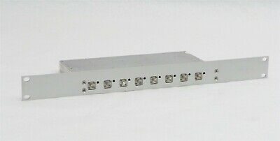 Mikom Commscope Andrew 8 Way Splitter Combiner 155303 1006373 Rack Mount Module