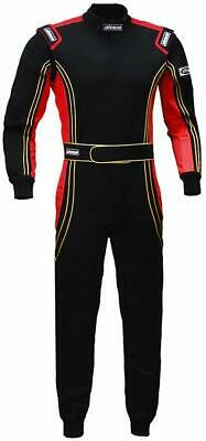 jxhracing One Piece Auto Go Karts Racing Suit Red Large ~ Fire Resistant