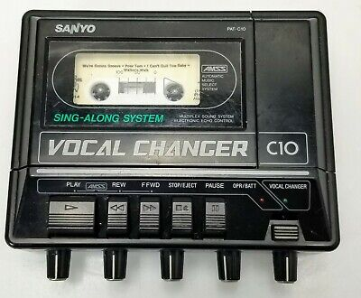 Sanyo Sing-Along System Vocal Chanager Model PAT-C10