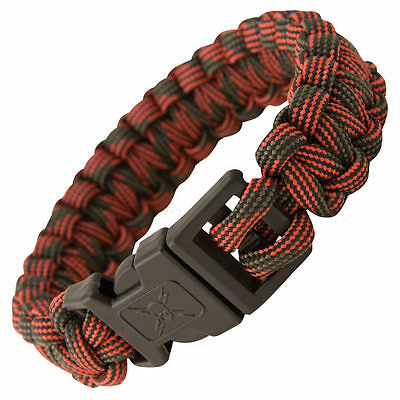United Cutlery Elite Forces Survival Paracord Bracelet Red Camo UC2874 NEW