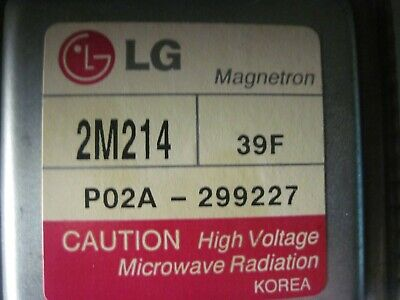 Microwave Oven - MagnetronLg 2M214  Replacement Part.