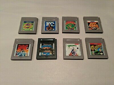 Nintendo GameBoy Games - Many Great Titles & Low Prices! All Cleaned and Tested