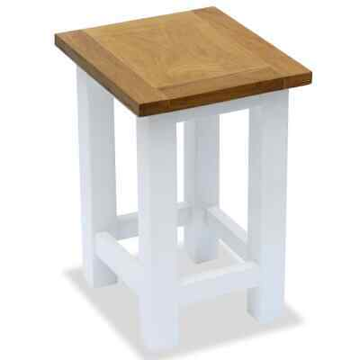 Small Solid Oak Hall Side Table Stand Shelves Occasional/Coffee/Lamp/End/Console