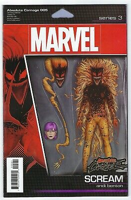 Absolute Carnage # 5 Action Figure Cover NM Marvel
